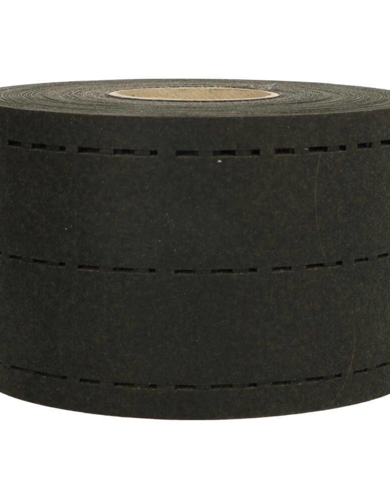 Vlieseline Tailleband versteviging - Zwart - 35mm