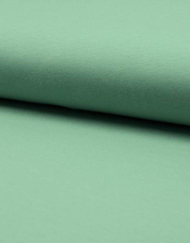 Tricot - Effen - Munt Groen