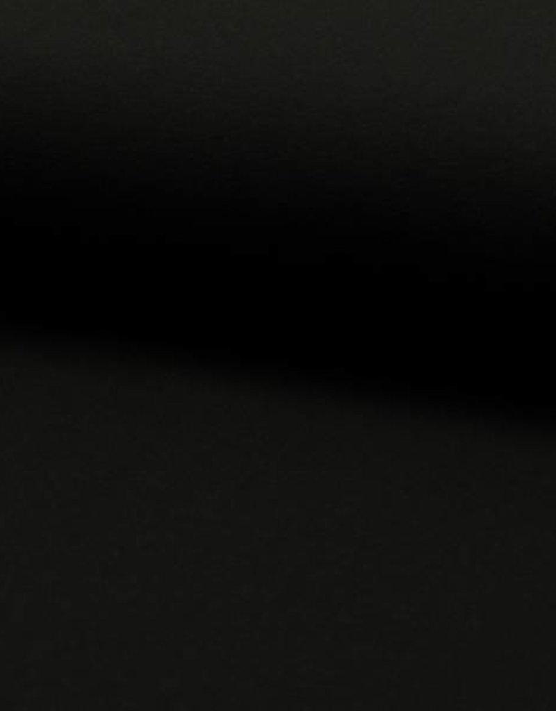 Tricot - Effen - Zwart