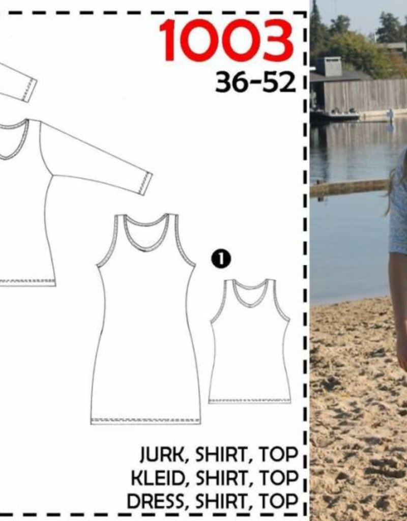 Patroon - It's a fits 1003 – Basic tricot top of jurk