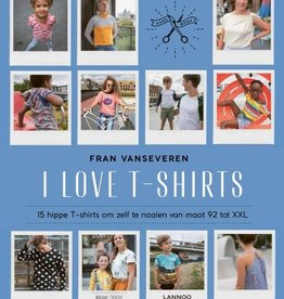 Lannoo Boek - I Love t-shirts