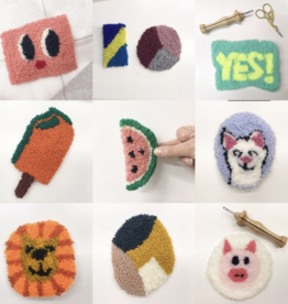 Workshop - Patch met Punch Needle - 11 okt