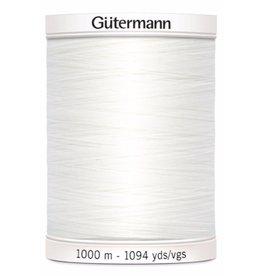Gütermann Allesnaaigaren 1000m - Wit