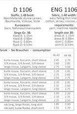 Patroon - It's a fits 1106 - Overslag Jurk en Rok