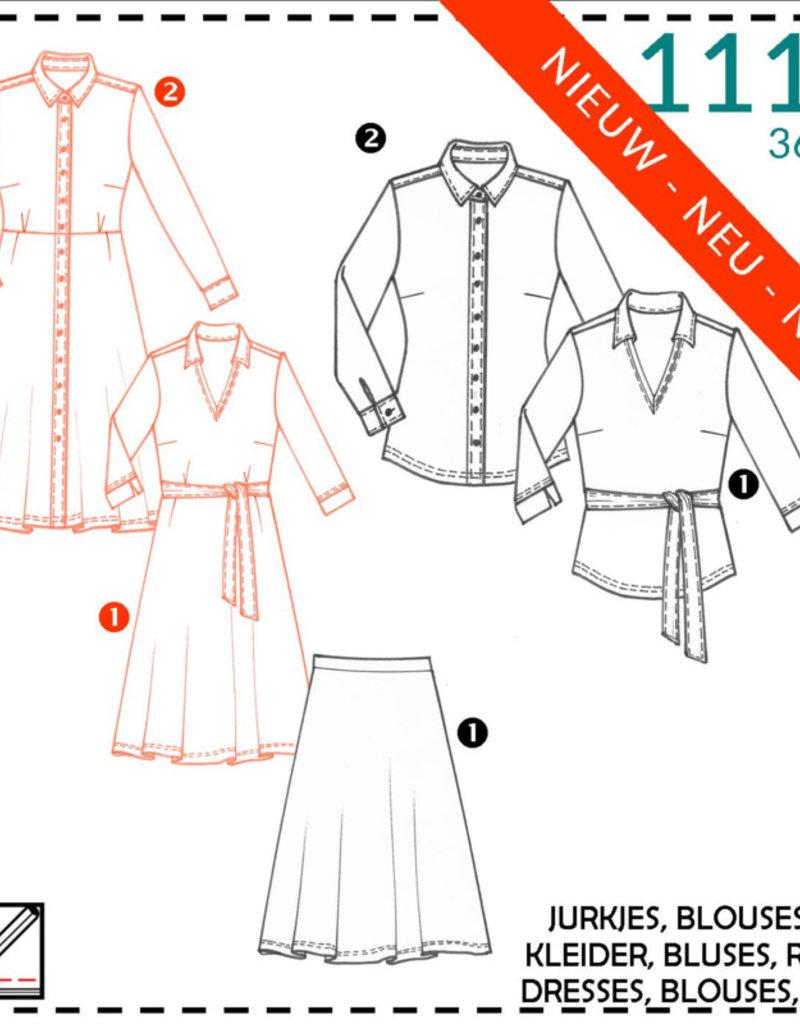 Patroon - It's a fits 1111 - Jurk - Blouse