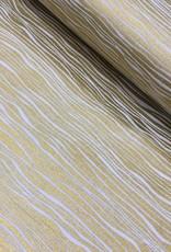 riffle Katoen - Waves - Goud