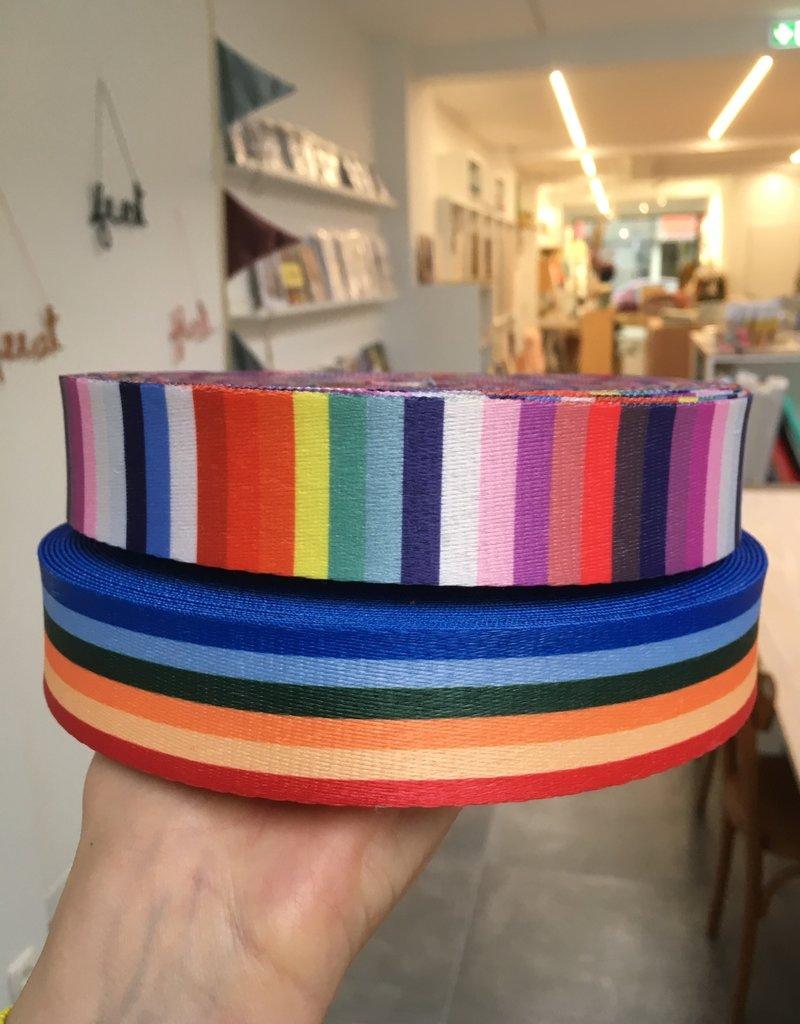 Tassenband - Regenboog