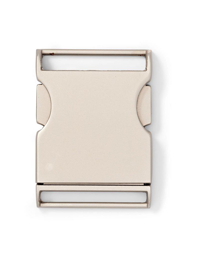 prym Klikgesp - Mat Zilver - 40mm