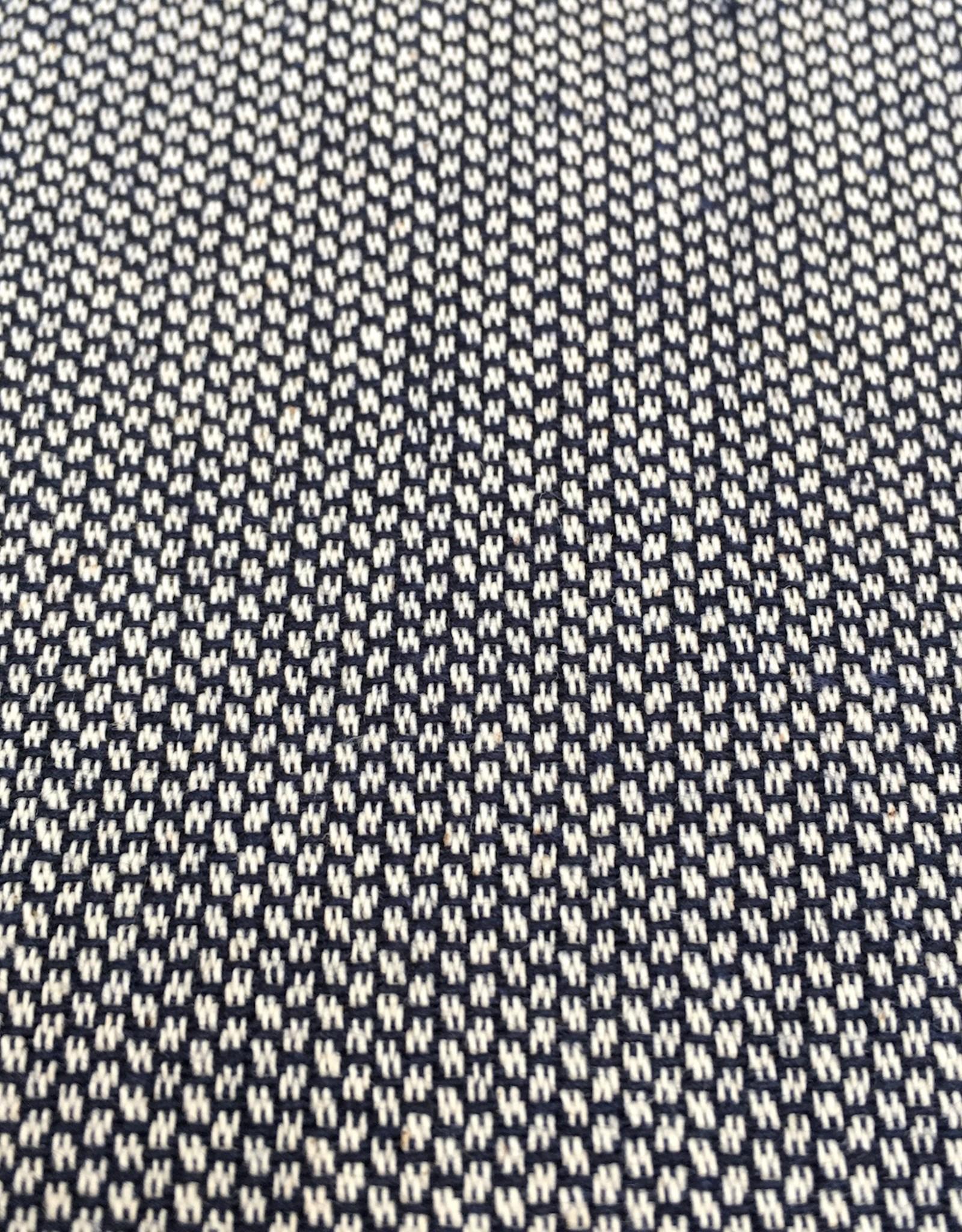 Canvas - Jaquard - Marineblauw