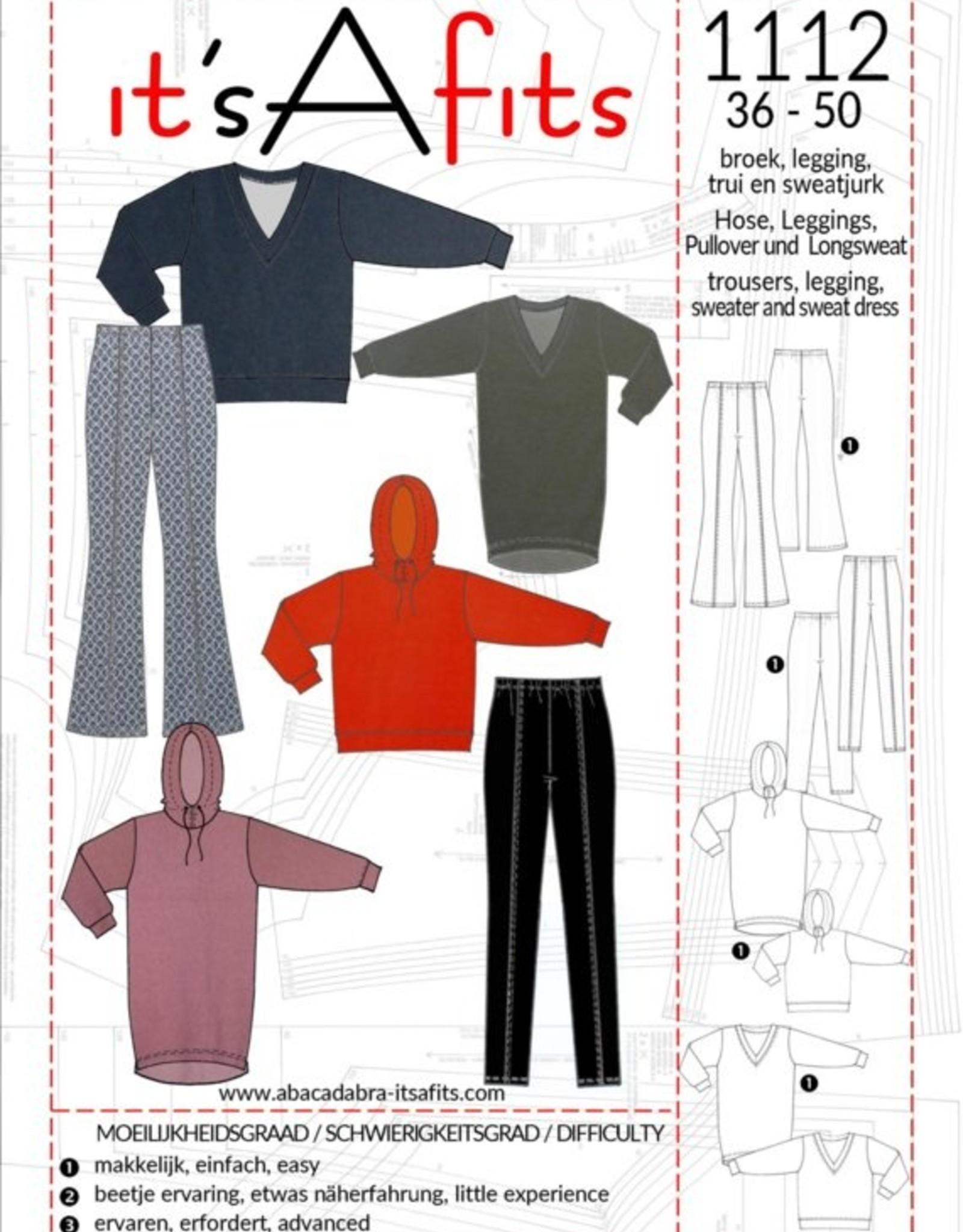 abracadabra Patroon - It's A Fits – Broek & Sweater - 1112