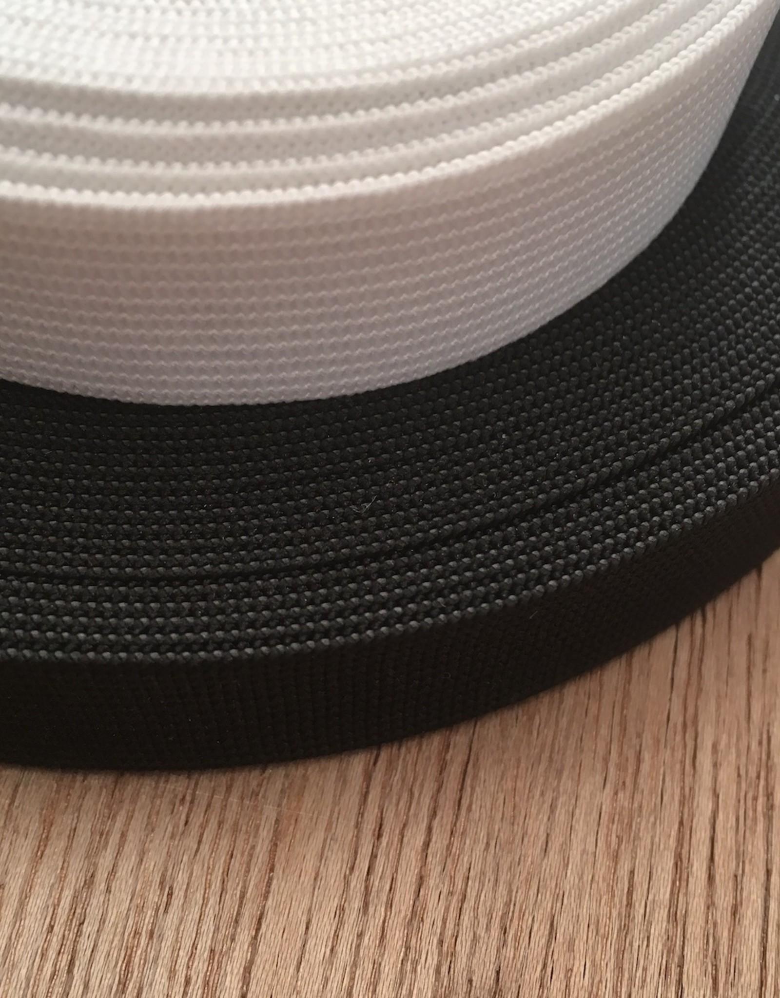 Elastiek  - 2 cm - zwart