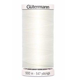 Gütermann Allesnaaigaren 500m - Gebroken Wit
