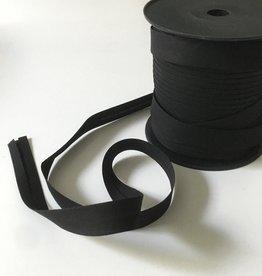 Rol 100m katoen Biais - 20mm - Zwart