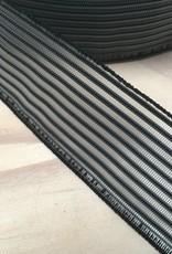 Gaas elastiek  - 4 cm - Zwart