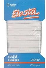 Elastiek  - wit 5 mm - 10m