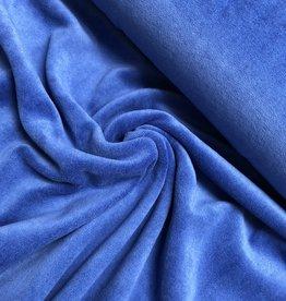 Nicky velours - Kobalt Blauw