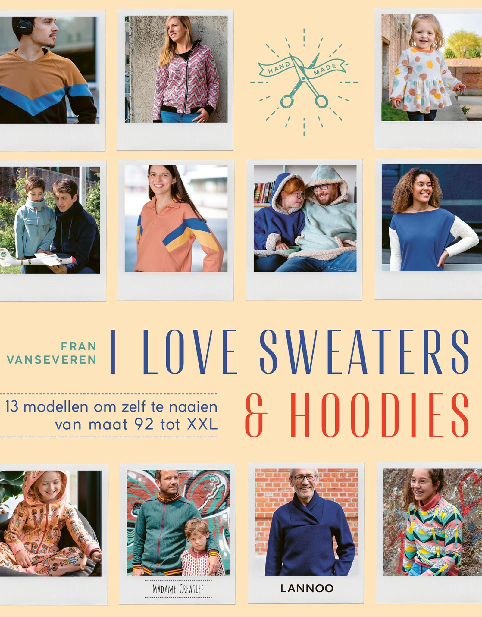 Lannoo Boek - I Love Sweaters & Hoodies