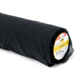Vlieseline Strijkvlies versteviging Elastisch- H609 - Zwart