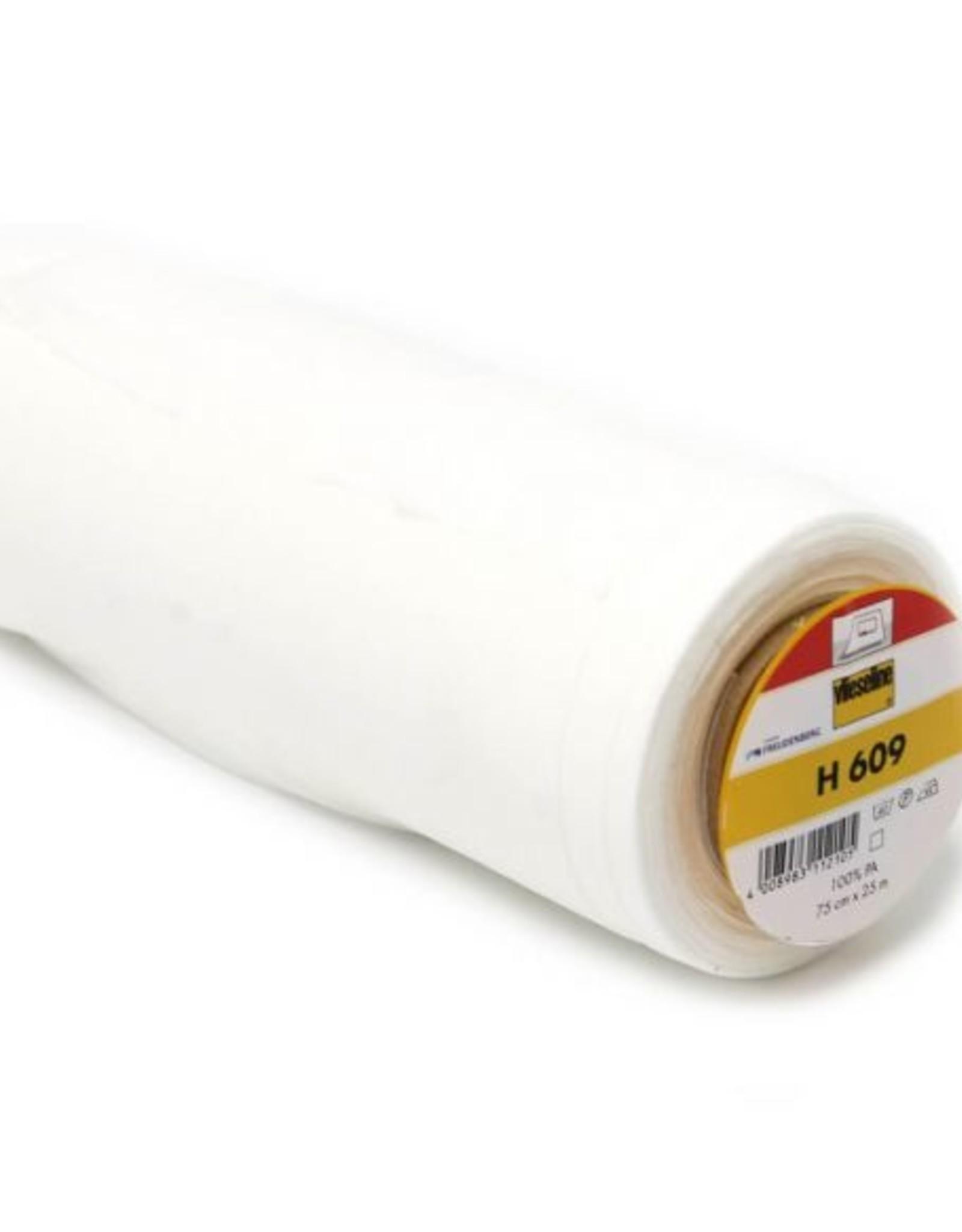 Vlieseline Strijkvlies versteviging Elastisch- H609 - Wit