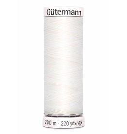Gütermann Allesnaaigaren 200m - wit