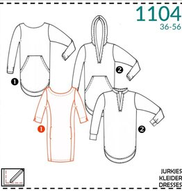 Patroon - It's a fits 1104 - Losse Jurk