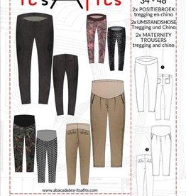 Patroon - It's a fits 1121 - Zwangerschaps broek