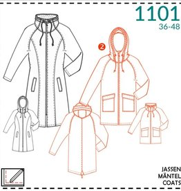 Patroon - It's a fits 1101 - (Regen) Jas