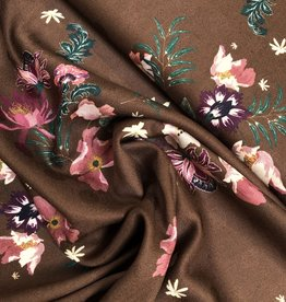 Viscose Twill – Winter flower