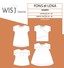 WISJ Patroon WISJ - Fons shirt & Lena jurk/top dames