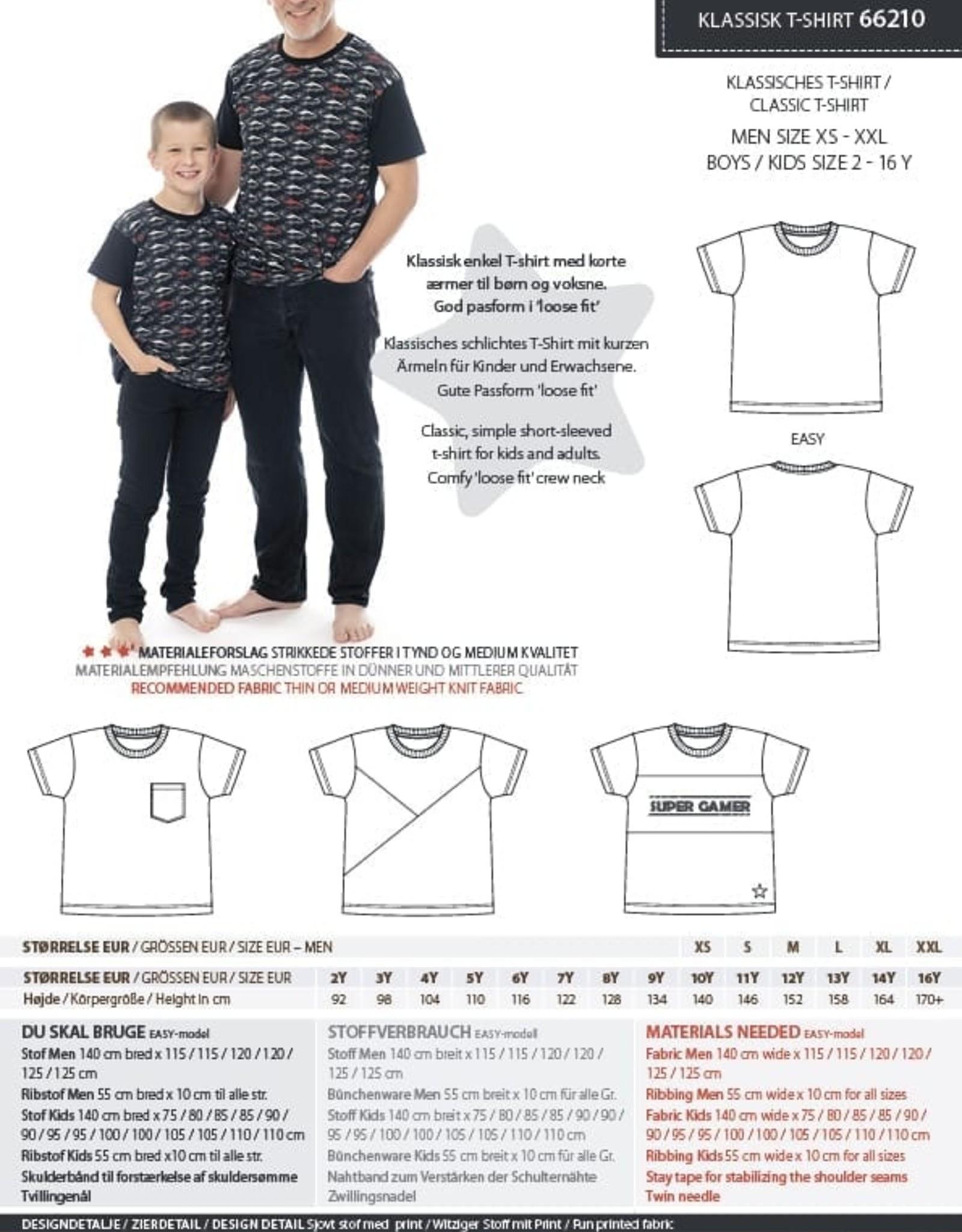 MiniKrea Patroon - T-shirt - Kind & Man
