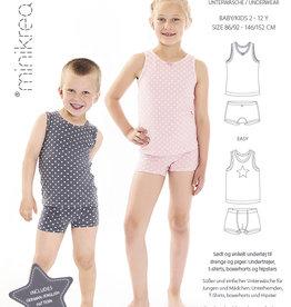 MiniKrea Patroon - MiniKrea - Ondergoed Kind