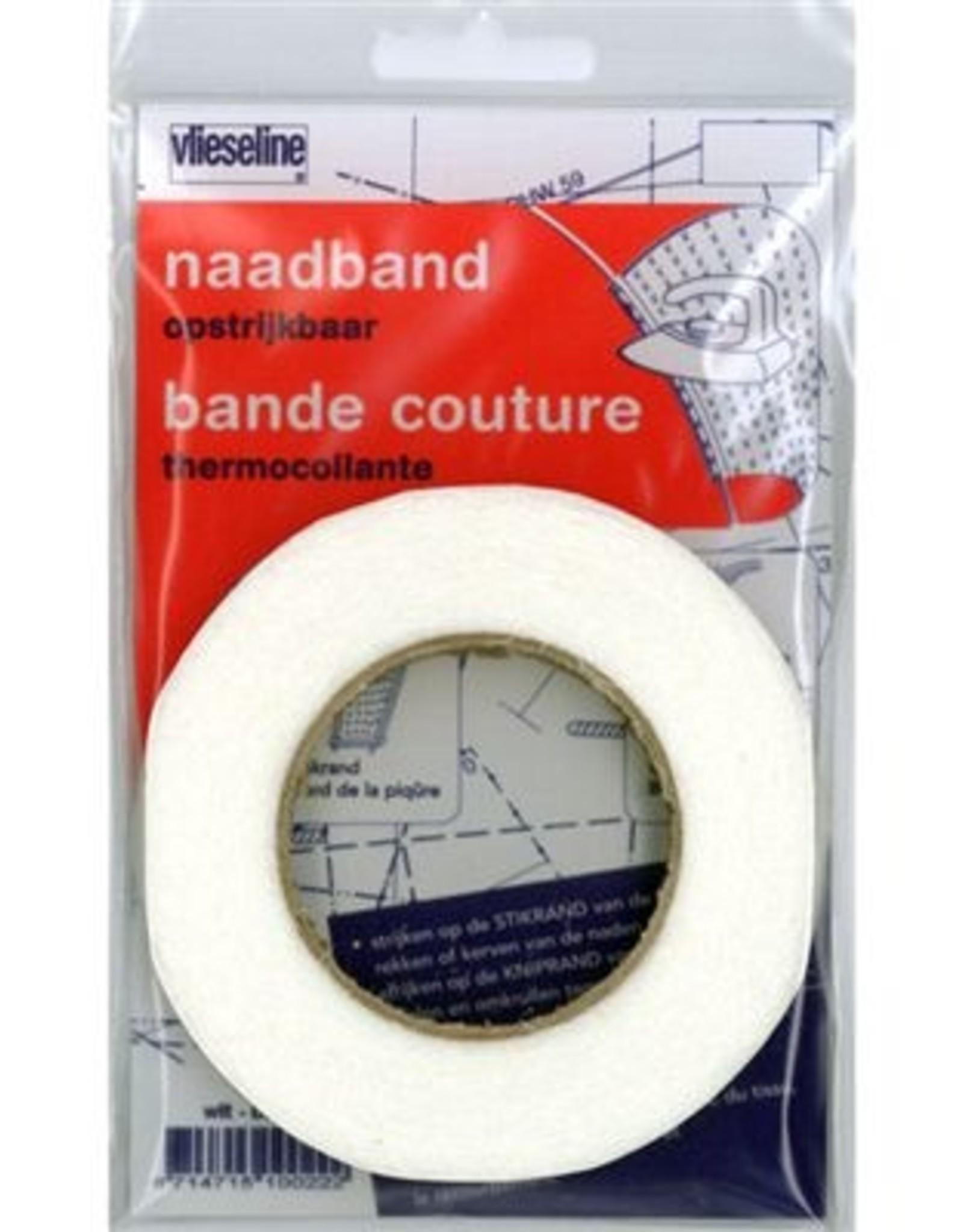 Vlieseline Naadband - 1cm - Wit