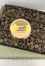 Rifle Paper Katoen - Rifle Paper Flowers - Black & Gold