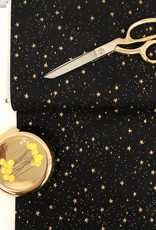 Rifle Paper Katoen - Rifle Paper Stars - Black & Gold