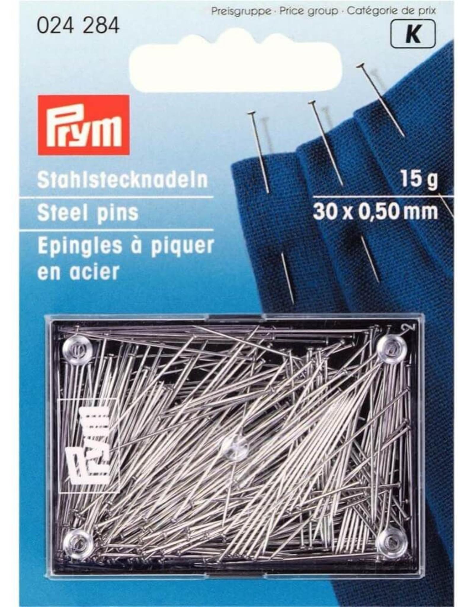 prym Fijne spelden staal - 30 stuks