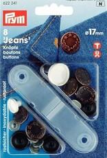 Jeansknoop - Prym 17mm - Brons