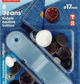 Jeansknoop - Prym 17mm - Brons
