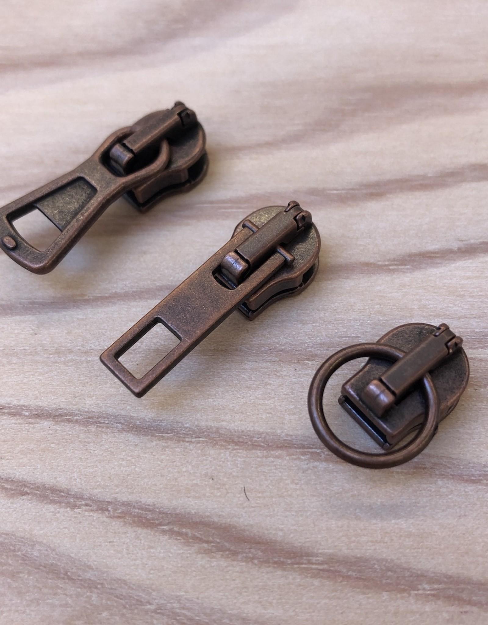 Rits Schuiver - Ring - Koper