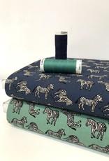 Katoen - Zebra - Groen
