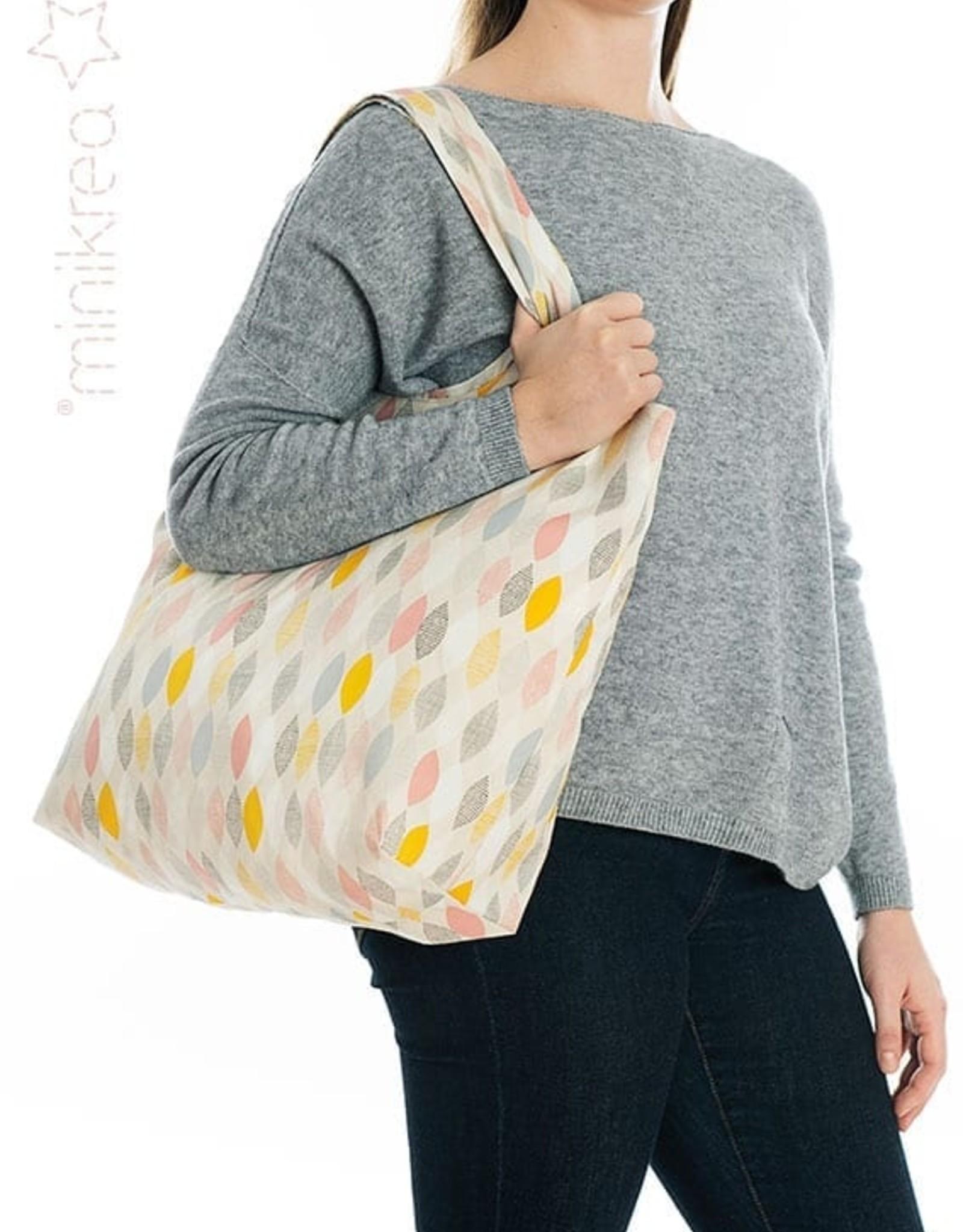 MiniKrea Patroon - Opvouwbare shopper