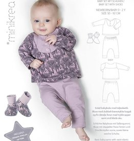 MiniKrea Patroon - Baby Set