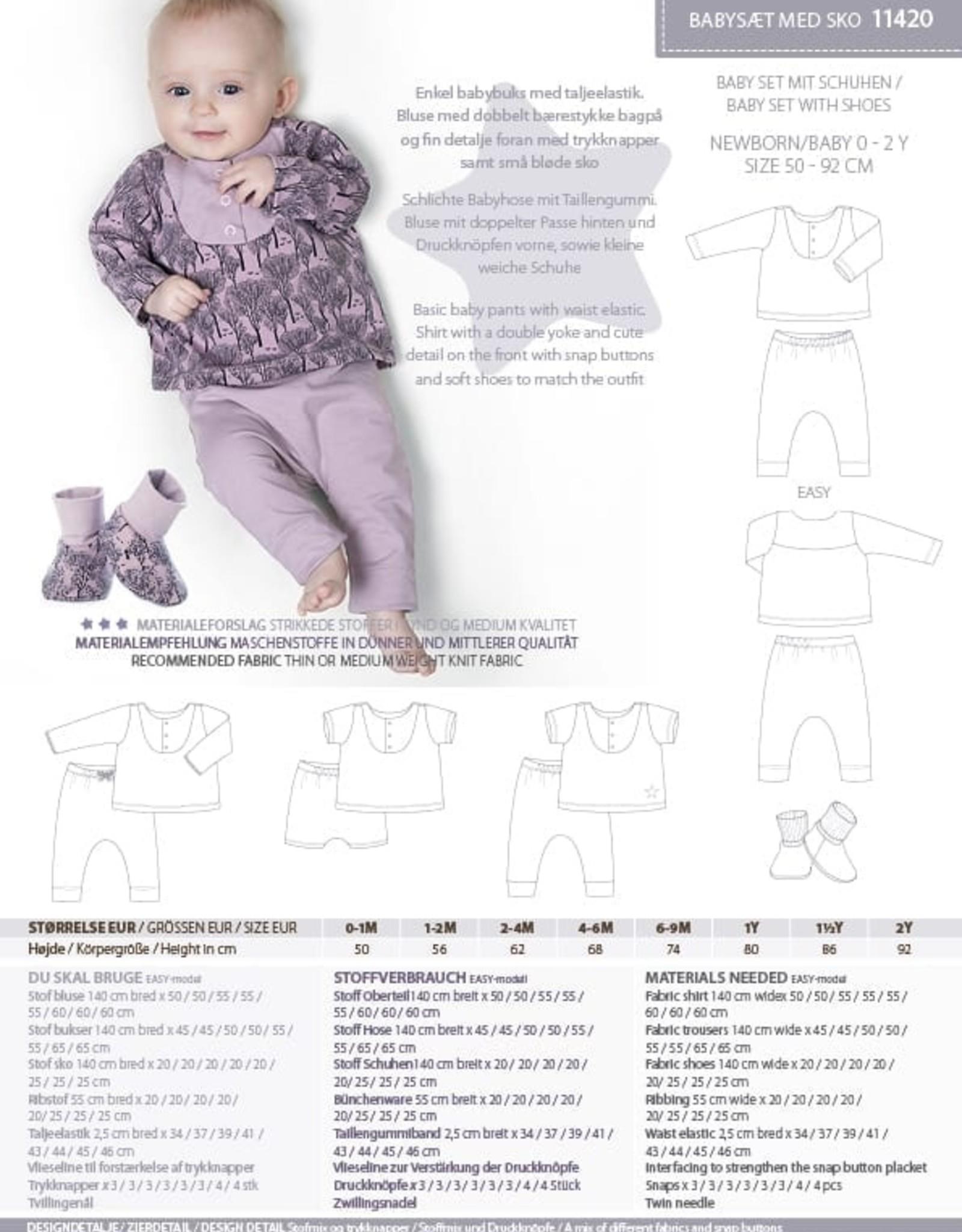 MiniKrea Patroon - Baby Set