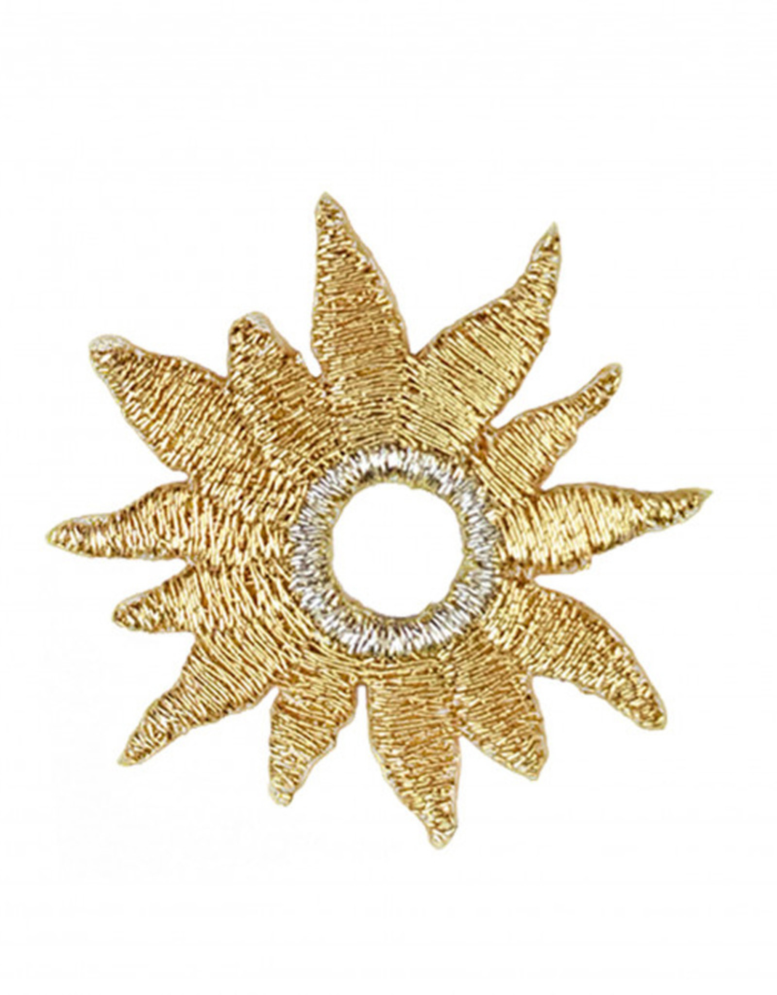 Strijkapplicatie - Golden sun