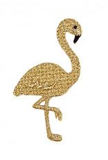 Strijkapplicatie - Flamingo