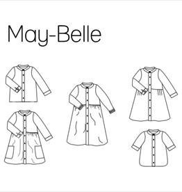 iris may patterns Patroon - May Belle Jurk