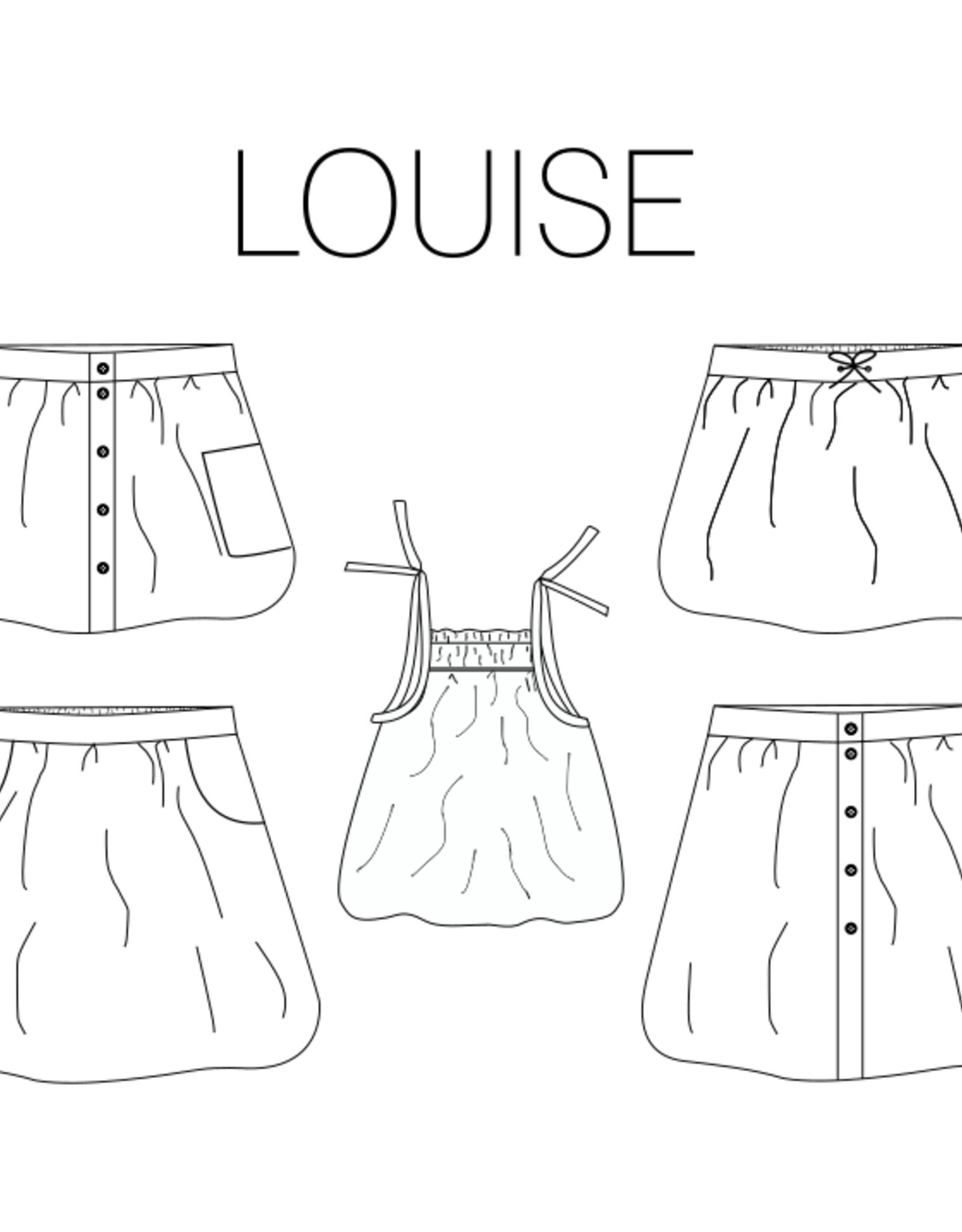 iris may patterns Patroon - Louise Rok en Top