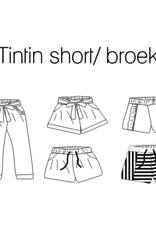 iris may patterns Patroon - Tintin Broek en Short