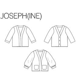 iris may patterns Patroon - JOSEPH(INE) Cardigan