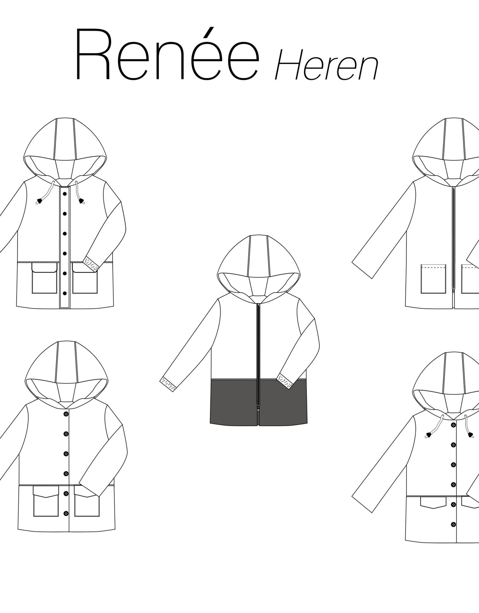 iris may patterns Patroon - Renée Heren