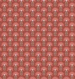Katoen - Brick Flower - Iris